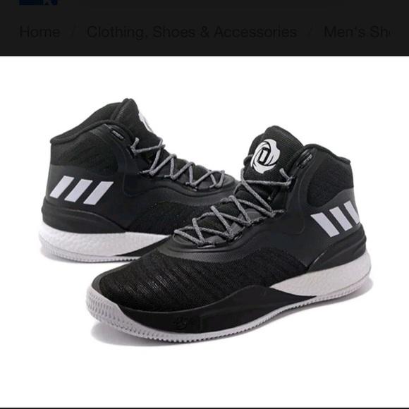 reputable site 26689 8901b Adidas SM D Rose 8 NBA NCAA Mens Basketball Shoe